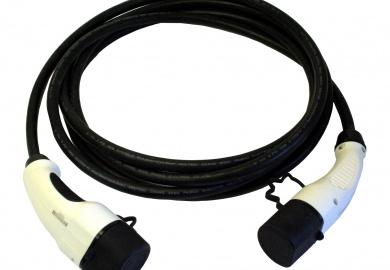 EV nabíjací kábel Typ 2 - Typ 2, 32A, 3-fázový, 10m