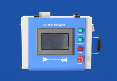 SETEC prenosná nabíjačka CHADEMO 10kW